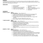 server resume example server media and entertainment gwen harris summary highlight - Resume Examples For Servers