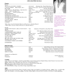 acting resume template for beginners by clara barton green