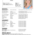 acting resume template for mac by amy handra