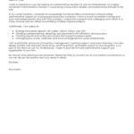 administrative assistant cover letter samples 2015 administrative assistant administration office support mia martin