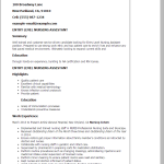 entry level cna resume entry level nursing assistant Amy witherspoon