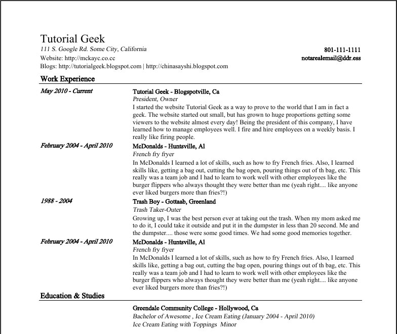 Google Docs Templates Resume Easy Best Writing Simple Detail