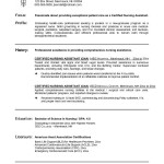 nursing student resume Easy-And-Simple-CNA-Nursing-Resume-Sample-With-Solid-Grounding-In-Nursing-Theories-And-Practices