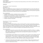 Basic Resume Objective Examples with resume skills example