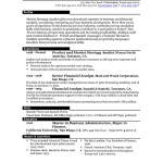 Best Resume Formats Free include history of experience skills aducation honor activities