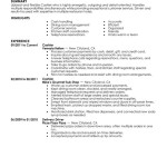 Cashier Responsibilities For Resume cashier food and restaurant