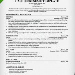 Cashier Resume Sample & Writing Guide 2016 Cashier Resume Template Professional