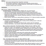 Chronological Resume Sample Accounting Chronological Resume Resume Examples 2014 customer service by donna