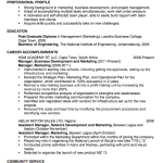 Chronological Resume Sample Marketing Business Development Resume Examples 2014 with headline by johan plikujy