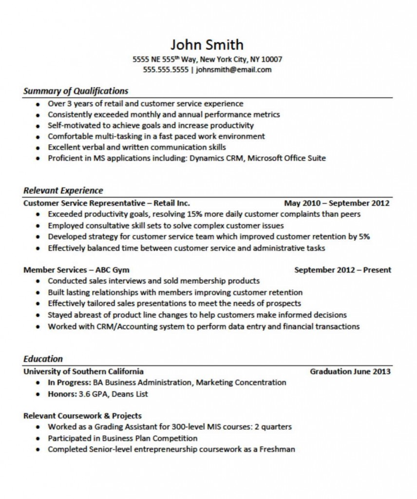Cna Skills Summary Resume