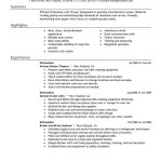 Dishwasher Resume Sample dishwasher media and entertainment table busser job description for resume by fae davis