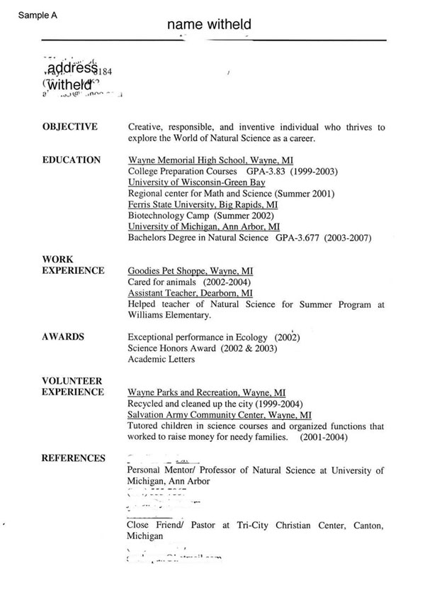 Fast Food McDonalds Job Resume ProfessionalFastFoodResumeSample