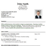 Free Download Resume Format For Professionals or Download Resume Format For Professionals