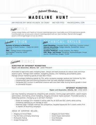 How to Make a Creative Unique and cool Looking Resume technical skills