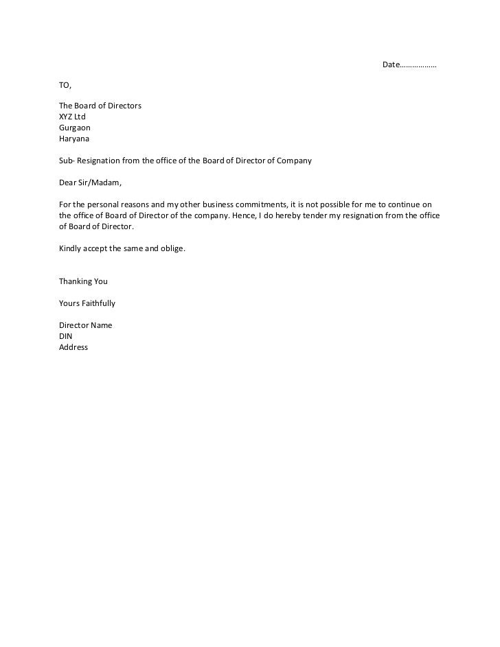 Best  Resignation Letter Samples  SamplebusinessresumeCom