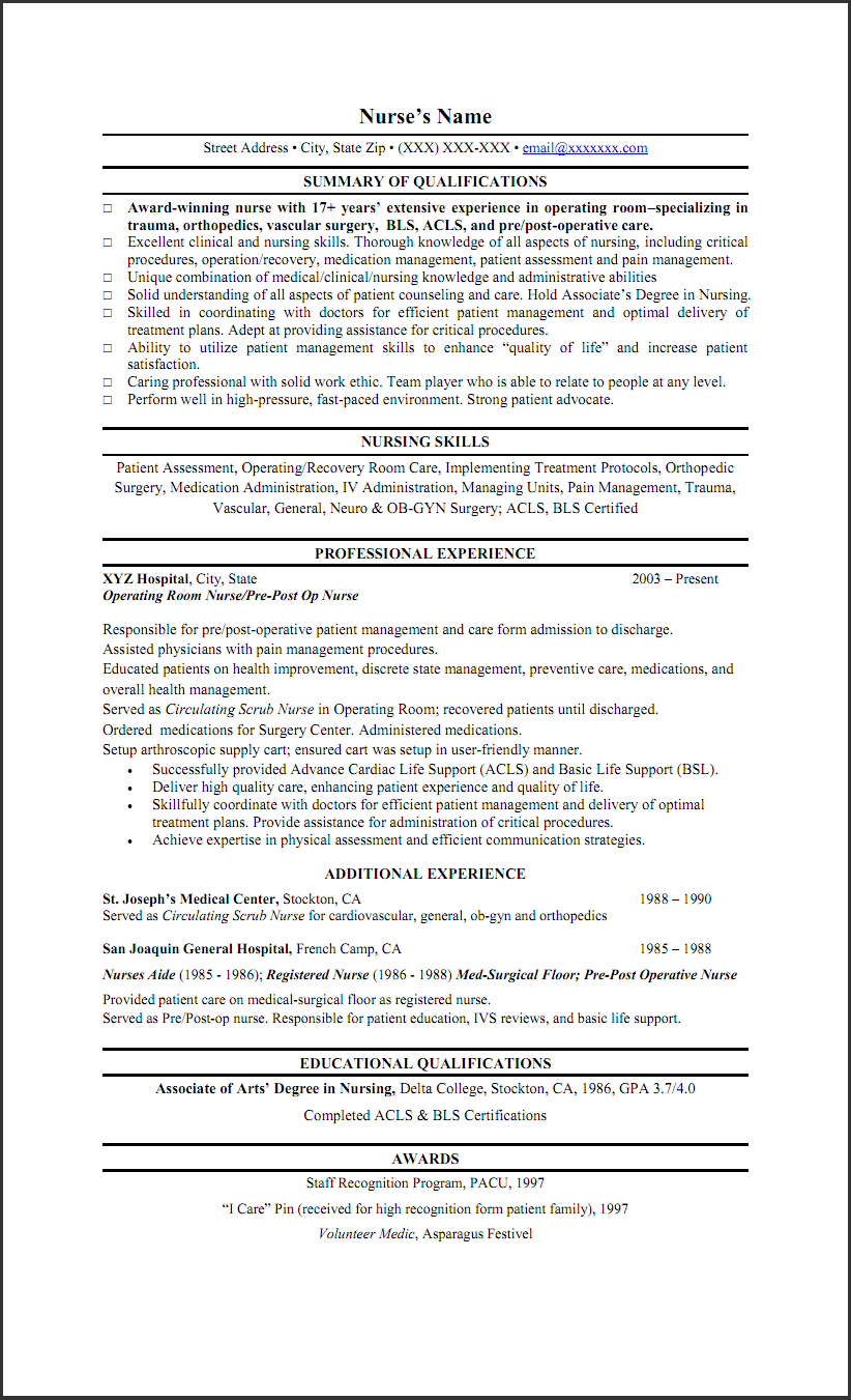 LPN summary of qualifications Custom Illustration and nursing skills Resume Examples Qualifications Summary