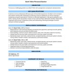 Like Your Resume with Our Bank Teller employemnt Resume Sample resume cover letter