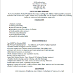 Medical Assistant Resume Template entry level medical assistant resume Pediatric Medical Assistant Resume Templates Also Medical Assistant List Of Duties