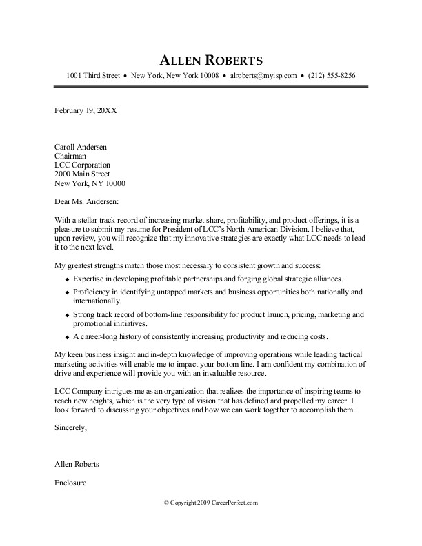 Best Cover Letter 2016 You Need Read Now - Samplebusinessresume