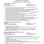 Resume Examples Sample Federal Resume Summary Of Qualifications Resume Examples 2014 describe experience