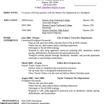 Resume Objective Examples 2014 Resume Examples 2014 for hospitality by john hoover