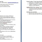 Sample Teacher Resumes Resumes Ideas Resume Examples 2014 for provider enrollment by bonnie mae
