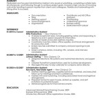 administrative assistant administration office support resume example contemporary administrative assistant resume objective by mia martin