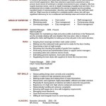 picture gallery of restaurant manager resume samples general manage r and co owner management key accomplishments