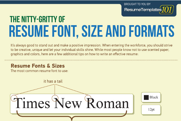 best fonts and proper font size for resumes best font for resume name