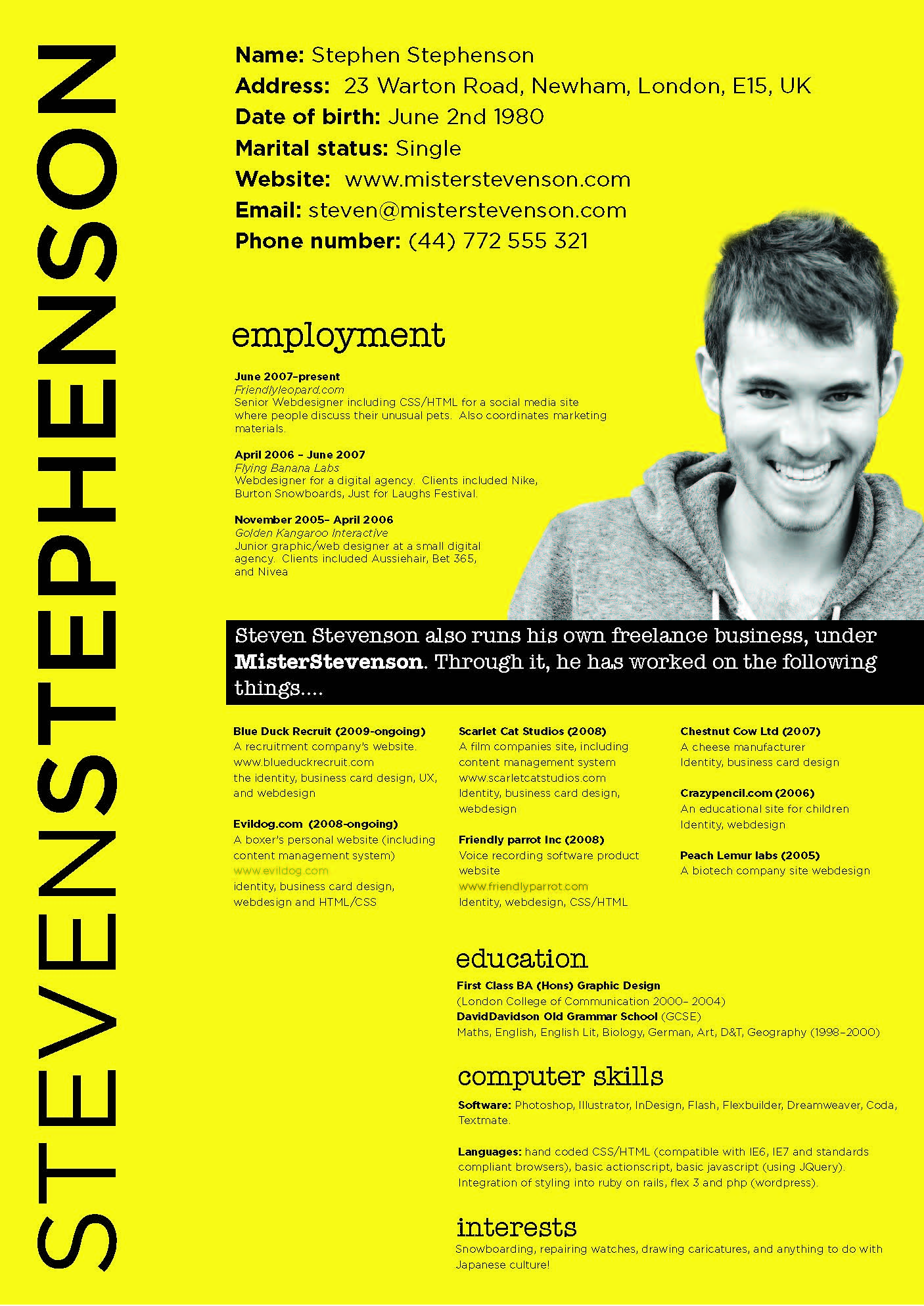 Best Resume Format For 2016 By Steven Stephenson