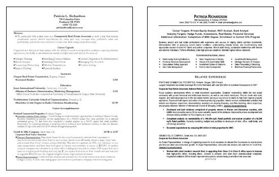 business analyst resume template by patricia richardson