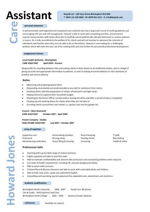 child care assistant resumes - Daycare Assistant Resume