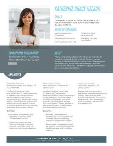 carolina grey resume template large best resume design by katherine grace nelson - Best Resume