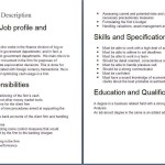 cashier job description sample Finance job descriptions