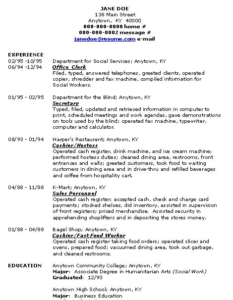 Great Resumes Good Resume Skills Good Resume Templates Good  List Of Resume Skills