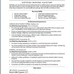 cna resume skills list examples certified nursing assistant by jane doe