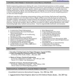 Contruction Project Manager And Electrical Engineer Resume By John Smith
