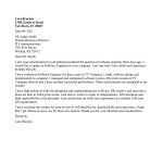 cover letter for internship engineer Software Engineer Cover Letter Example lars bracken