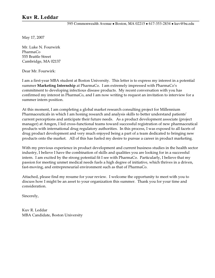 example of cover letter for internship cover letter for internship example cover letter 21569