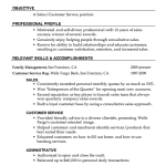 customer service resume pdf Resume Sample Sales Customer Service carol pilson