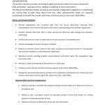 data entry job description job description sample data entry data entry clerk jobs
