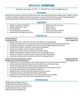 Fitness And Personal Trainer Personal Care And Services Thumbnail Personal  Care Assistant Resume Job Description By  Personal Care Assistant Resume