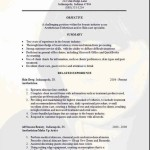 free resume templates objective related experience examples samples can Free edit with word
