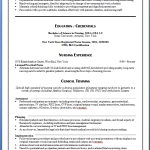 graduate nurse resume nursing resume samples for new graduates yuri saden - Nurse Resume Sample