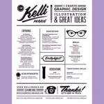 graphic design resume 2016 graphic design resume kelli