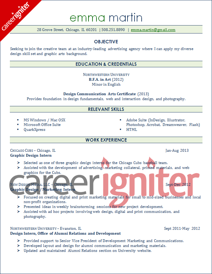 Sample Graphic Designer Resume Template  SaindeOrg