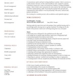 healthcare assistant cv template template of personal care assistant resume by gary white