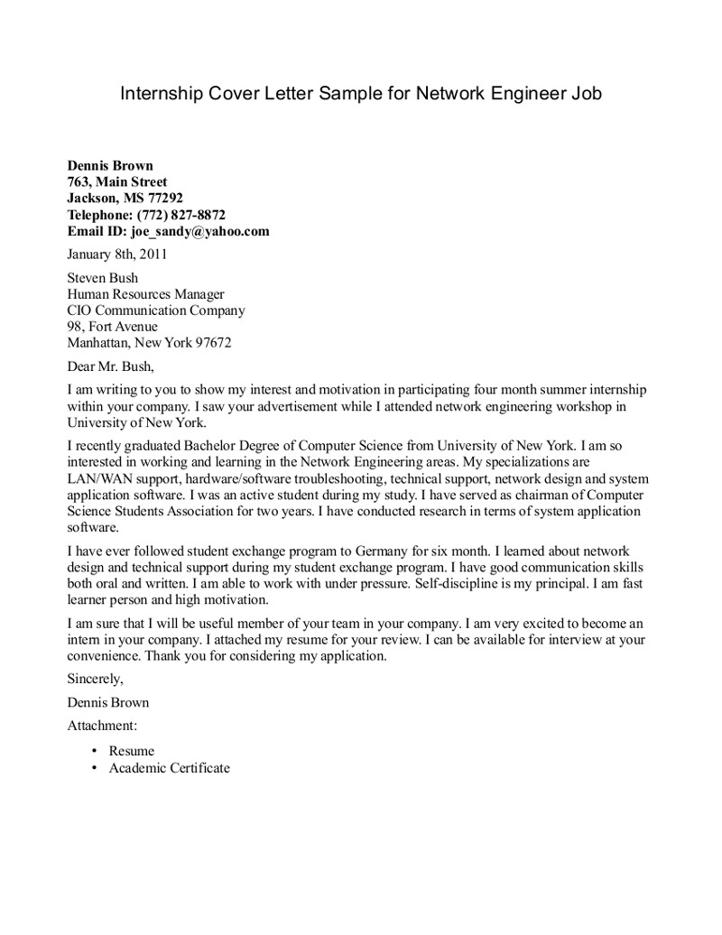intern cover letter viral A college student writes the best cover letter ever, potentially gets several wall street internship interviews.