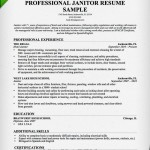 janitor resume professional sample resume for janitorial jobs work