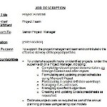 job description project assistant Job description for a project assistant or project coordinator supporting a project management team project coordinator job description non profit